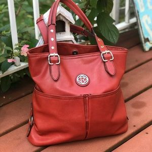 RELIC HOBO STYLE BAG IN BRICK RED GORGEOUS